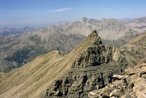 la Pointe de la Côte de l'Ane (2916m), 1985