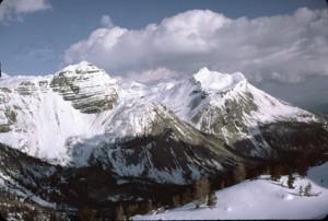 Roche Grande (2752m), juin 1984