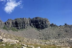 la Roche Trouée, arête Karbrat-Merge (2703m), 1985