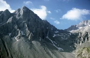 le col du Pelat (2819m), 1986