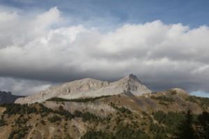 l'Encombrette vue du col des Champs 2012