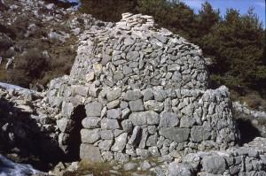 cabane 7027, col du Clapier, 1977