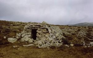 cabane 7022, Calern, 1977