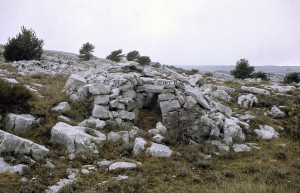 cabane 7026, Calern, 1977