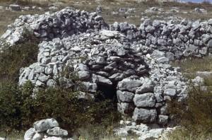 cabane 7363, Calern, 1978