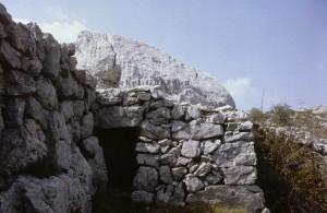 cabane 7389, Calern, 1977
