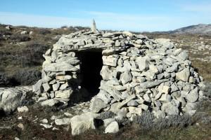 cabane 7504, Calern, 2014