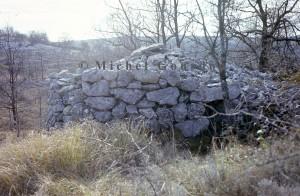 cabane 7097 Cavillore, 1977